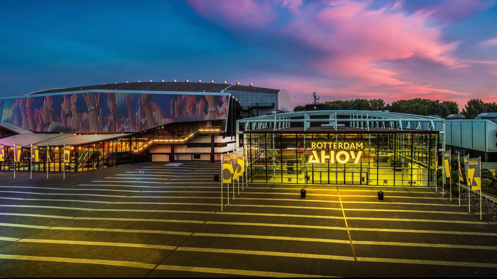 Rotterdam Ahoy Arena, luogo dell'evento