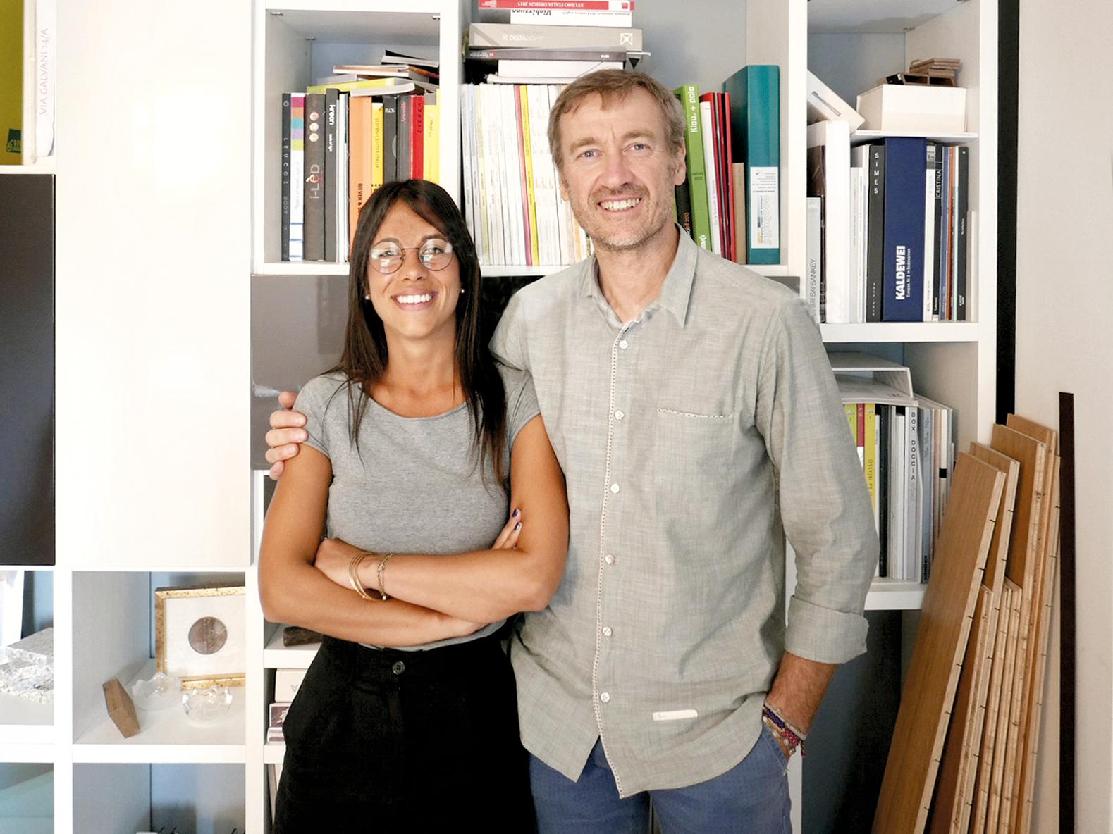 Arch.Albino Finotti and Arch.Francesca Bagnani