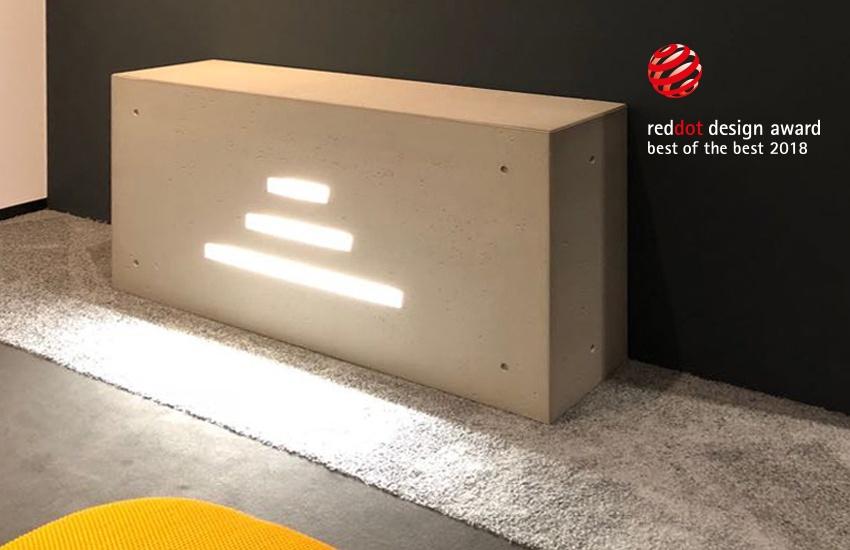 Ghost Linear in esposizione presso il Red Dot