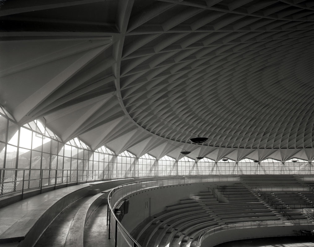 Sports Palace, Roma, Pierluigi Nervi
